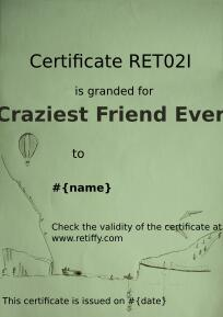 Craziest friend, Developed by Ekaterina Mitova