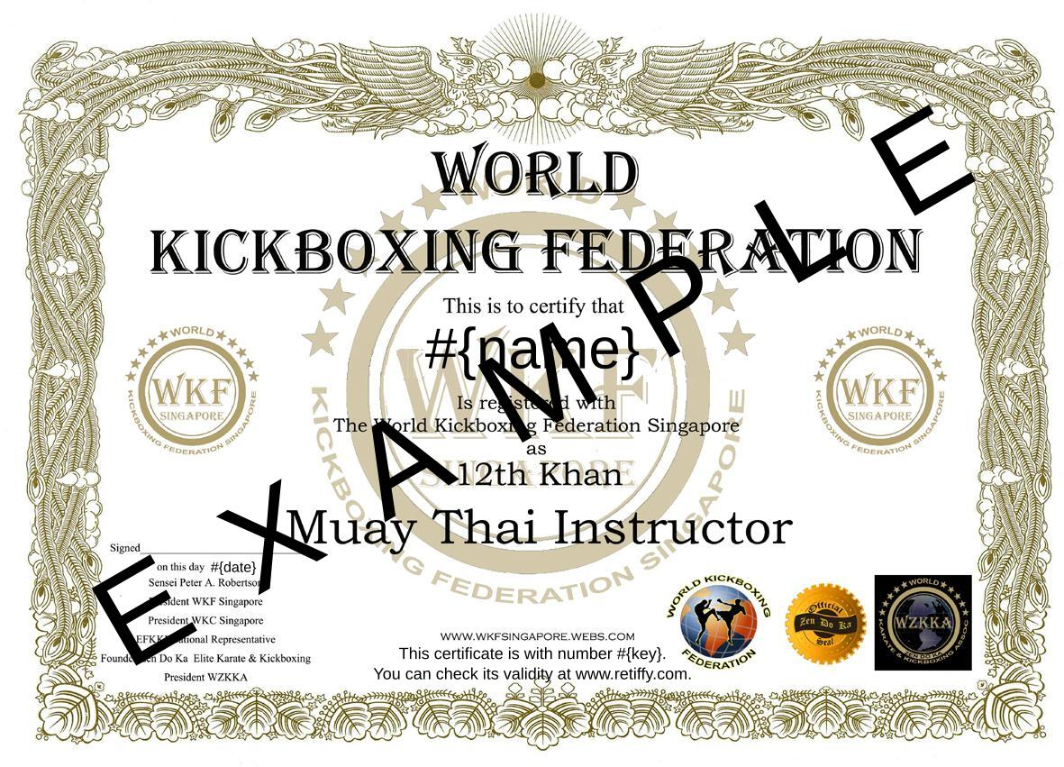Muay thai certificate templates northurthwall muay thai certificate templates alramifo Choice Image